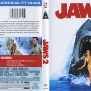 Jaws 2 (1978) R1 Blu-Ray Cover & Labels