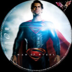 Man of Steel (2013) R2 German Custom Labels
