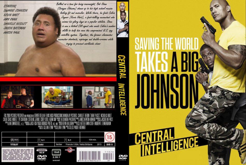 Central Intelligence Dvd Cover 2016 R0 Custom