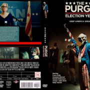 The purge: Election Year (2016) R0 CUSTOM Cover & Label