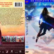 Supergirl Staffel 1 (2016) R2 German Custom Cover & Labels