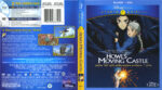 Howl's Moving Castle (2004) R1 Blu-Ray Cover & Labels