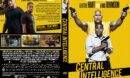 Central Intelligence (2016) R1 Custom DVD Cover