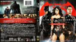 Batman v Superman Dawn of Justice (Ultimate edition) (2016) R1 Blu-Ray Cover