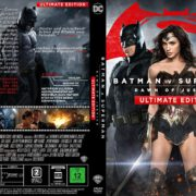 Batman v Superman – Dawn of Justice (Ultimate Edition) (2016) R2 GERMAN Custom Cover