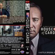 House of Cards – Season 4 (2016) R1 Custom Cover & Labels
