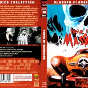 Drive-In Massacre (1977) R2 Blu-Ray Cover & Label