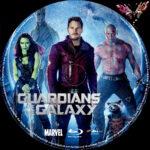 Guardians of the Galaxy (2014) R2 German Custom Blu-Ray Labels