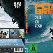 Point Break (2015) R2 German Custom Blu-Ray Cover & Labels