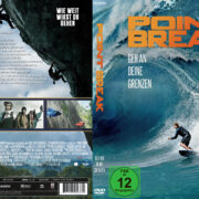 Point Break (2015) R2 Custom German Cover & Label