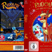 Rudolph mit der roten Nase (1998) R2 German Custom Cover & Label