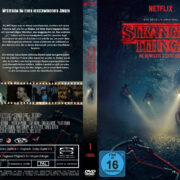 Stranger Things Staffel 1 (2016) R2 German Custom Cover & Labels