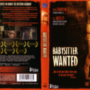 Babysitter Wanted (2009) R2 German Custom Cover & Label
