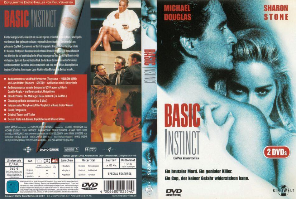 Basic Instinct Dvd Cover 1992 R2 German