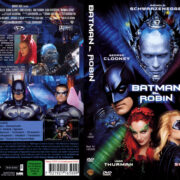 Batman & Robin (1997) R2 German Cover & Label