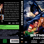 Batman Forever (1997) R2 German Cover & Labels