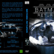 Batmans Rückkehr (1999) R2 German Cover & Label
