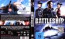 Battleship (2012) R2 German Cover & Label