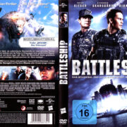 Battleship (2012) R2 German Cover & Label