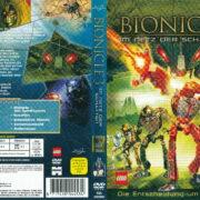 Bionicle 3 - Im Netz der Schatten (2005) R2 German Cover & Label