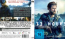 13 Hours - The Secret Soldiers of Benghazi (2016) R2 German Blu-Ray Cover & Label