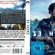 13 Hours – The Secret Soldiers of Benghazi (2016) R2 German Blu-Ray Cover & Label