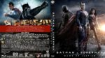 Batman v Superman: Dawn of Justice (2016) R2 German Custom Blu-Ray Cover & Label