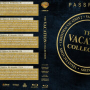 Vacation Collection (1983-2003) R1 Custom Blu-Ray DVD Cover