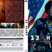 13 Hours – The Secret Soldiers of Benghazi (2016) R2 German Custom Blu-Ray Cover & Label