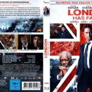 London Has Fallen (2016) R2 German Blu-Ray Cover