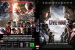 The First Avenger Civil War (2016) R2 GERMAN Custom Cover
