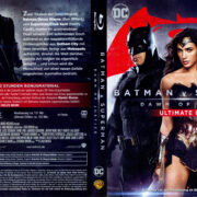 Batman v Superman: Dawn of Justice UE (2016) R2 German Blu-ray Covers