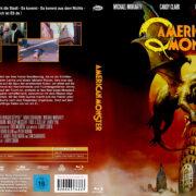 American Monster (1982) R2 German Blu-Ray Cover