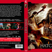 Hatchet (2006) R2 German Blu-Ray Cover
