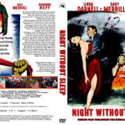 Night Without Sleep (1952) R2 German Cover
