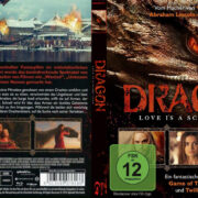 Dragon Love is a Scary Tale (2015) R2 German Custom Blu-Ray Cover & label