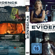 Evidence Auf der Spur des Killers (2013) R2 German Custom Cover & label