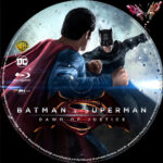 Batman vs Superman (2016) R2 German Custom Blu-Ray Labels