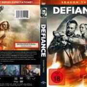Defiance Staffel 3 (2015) R2 German Custom Cover & Labels