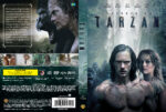 The Legend of Tarzan (2016) R2 Custom Swedish DVD Cover
