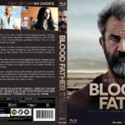 Blood Father (2016) R2 Blu-Ray Nordic Cover