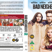 Bad Neighbours 2 (2016) R2 Blu-Ray Nordic Cover