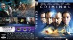 Criminal (2016) R1 Blu-Ray Custom Cover