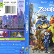 Zootopia (2016) R1 Blu-Ray Cover & Labels