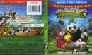 Kung Fu Panda 3 (2016) R1 Blu-Ray Cover & labels