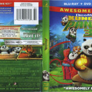 Kung Fu Panda 3 (2016) R1 Blu-Ray Cover & labels