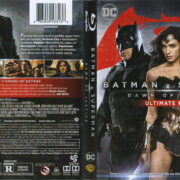 Batman V Superman: Dawn Of Justice (2016) R1 Blu-Ray Cover & labels