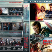 Captain America Triple Feature (2011-2016) R1 Custom Blu-Ray Cover