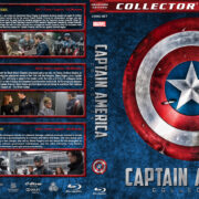 Captain America Collection (2011-2016) R1 Custom Blu-Ray Cover