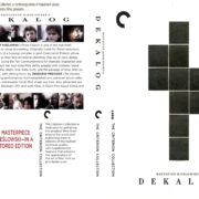 Dekalog (The Criterion Collection) (1988) R0 Custom Cover